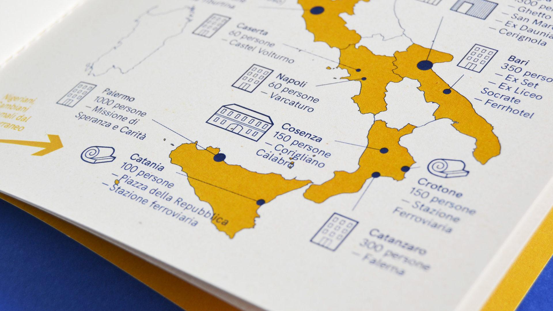 Vademecum Cinzia Bongin migrant refugees design for migration