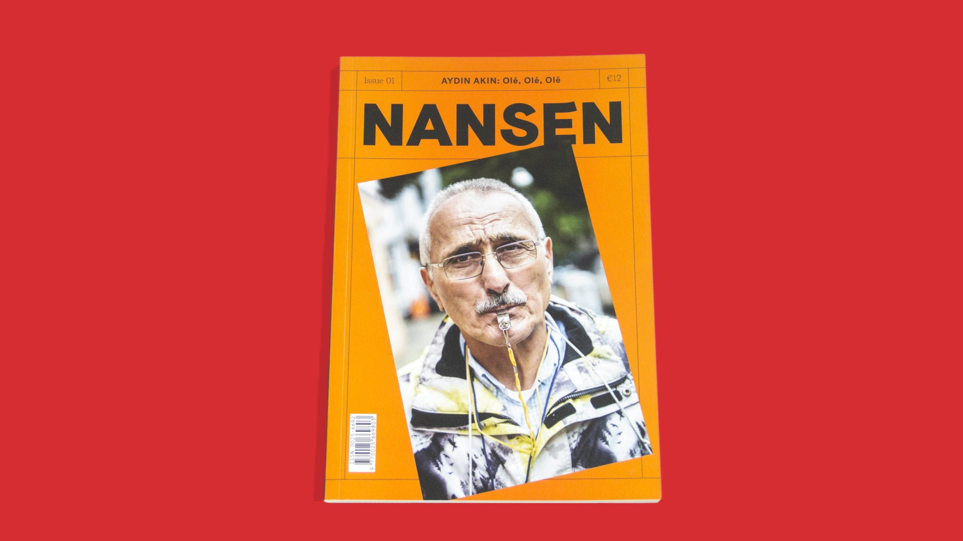 NANSEN Magazine design for migration