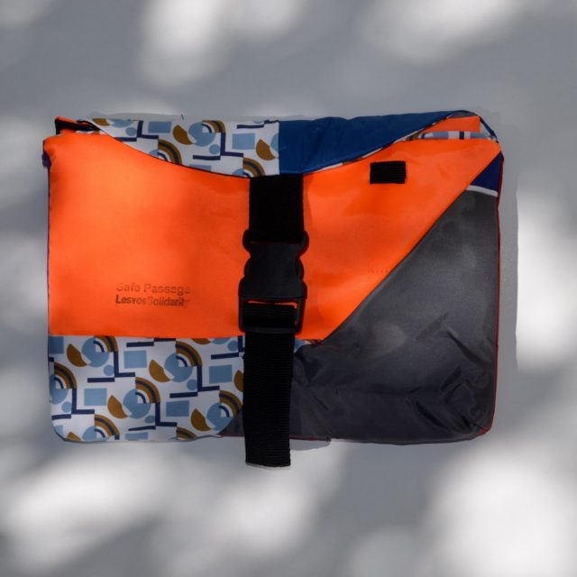 Safe Passages bags Lesvos Design for migration