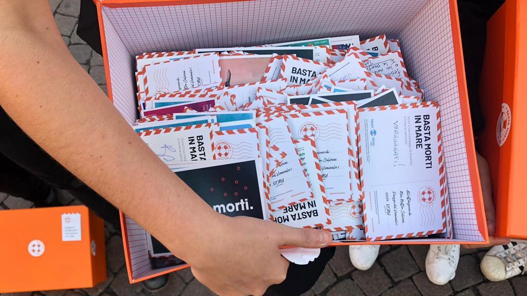 solo in cartolina design for migration eleonora sabet